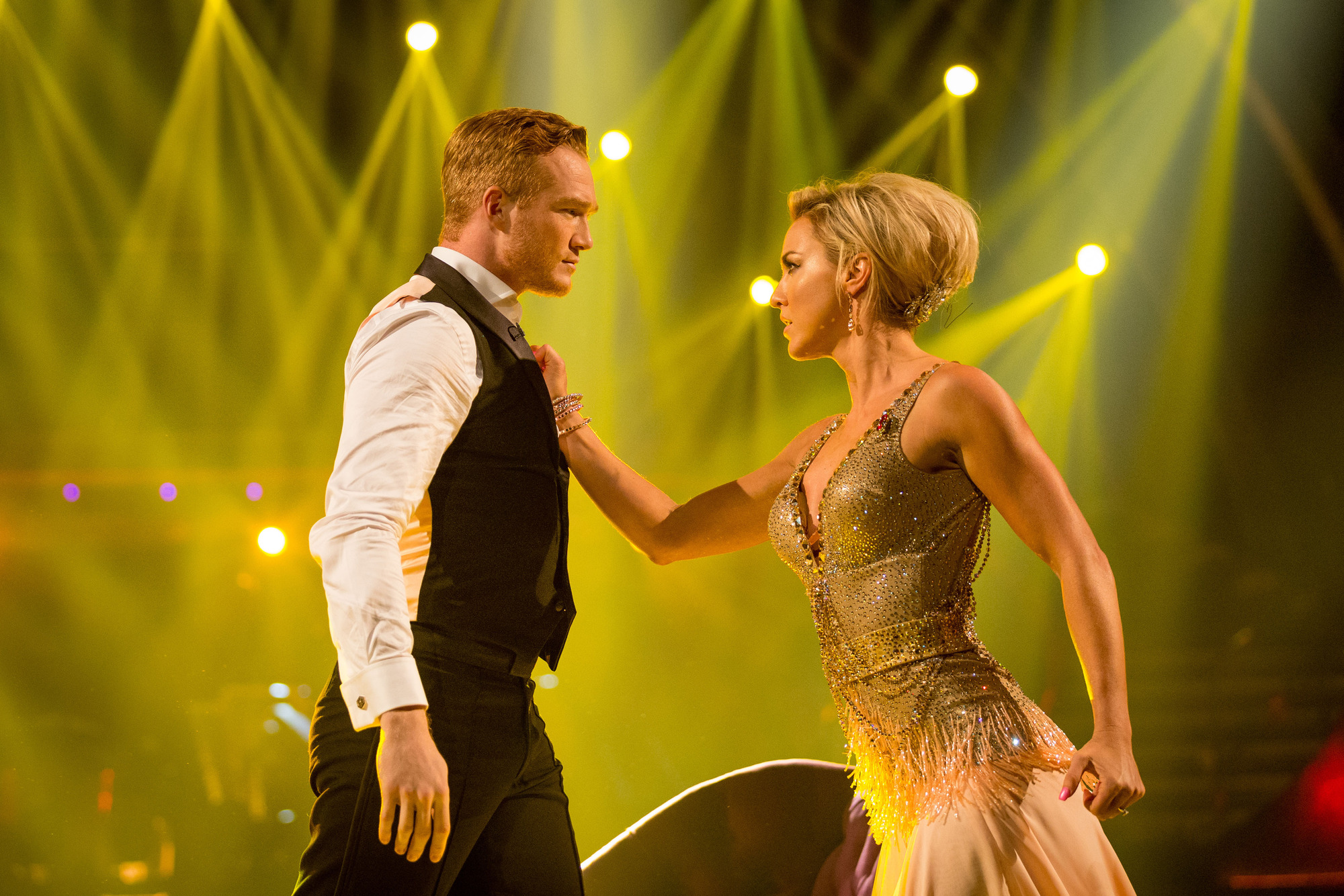 Greg Rutherford, Natalie Lowe - (C) BBC - Photographer: Guy Levy