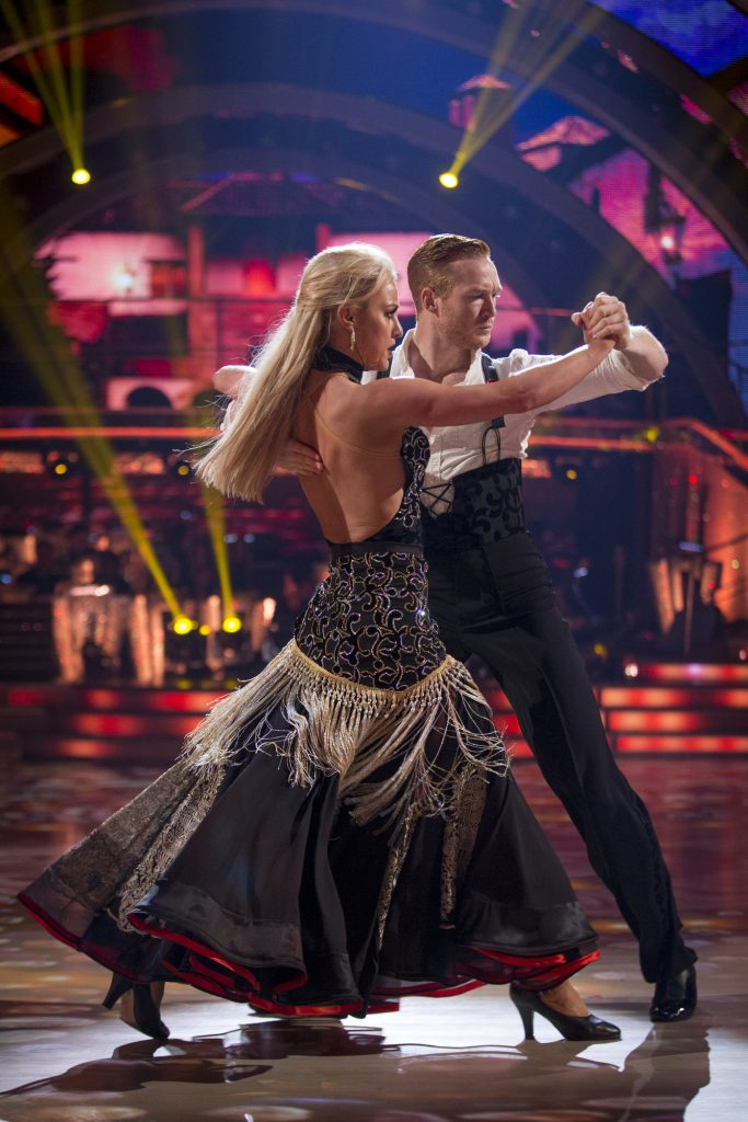 Natalie Lowe, Greg Rutherford - (C) BBC - Photographer: Guy Levy