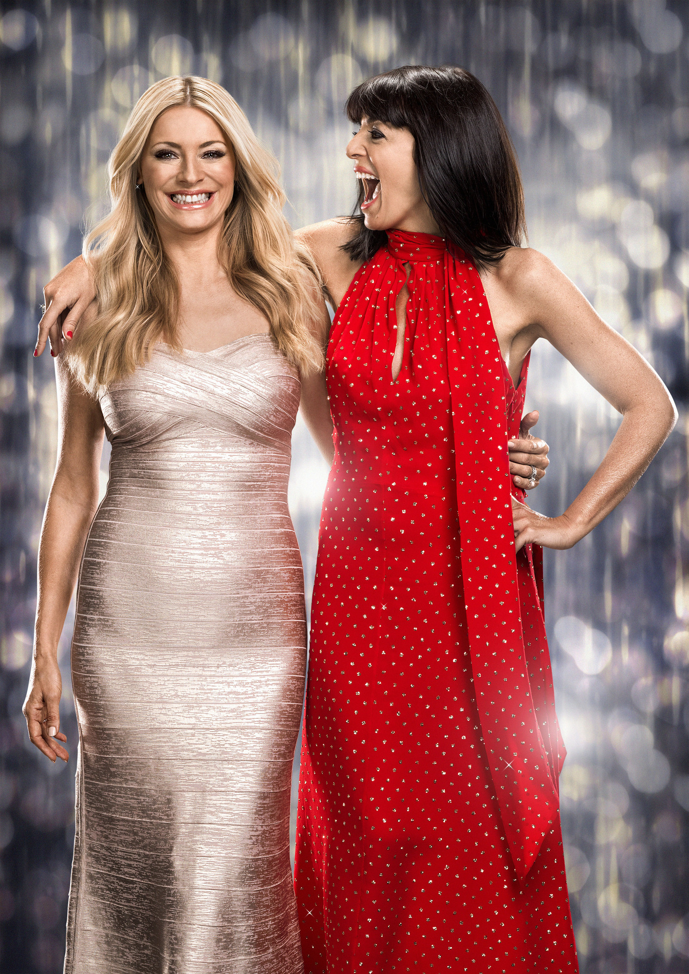 Tess Daly, Claudia Winkleman - (C) BBC - Photographer: Jay Brooks