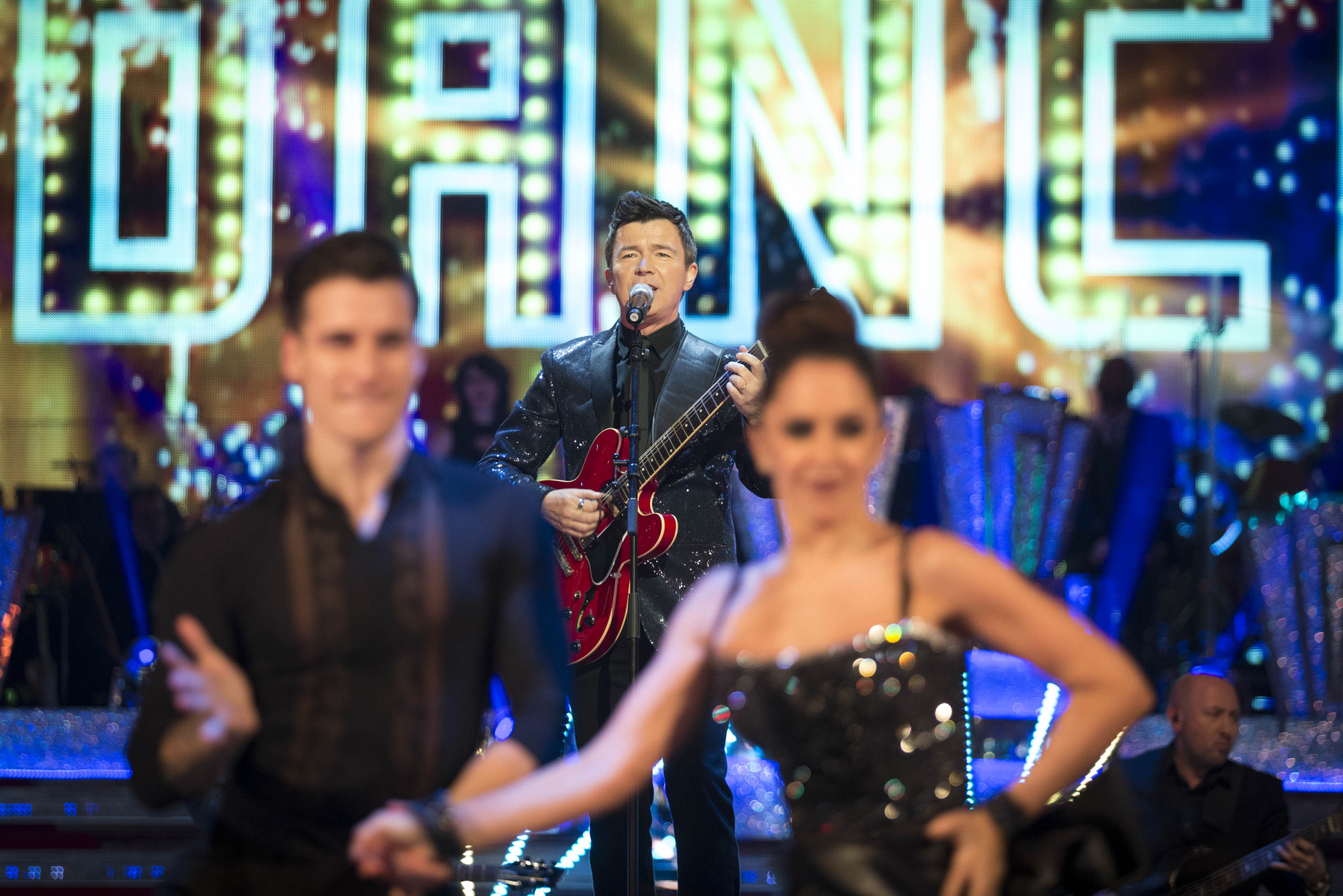 Strictly Come Dancing Pro Dancers, Rick Astley - (C) BBC - Photographer: Guy Levy