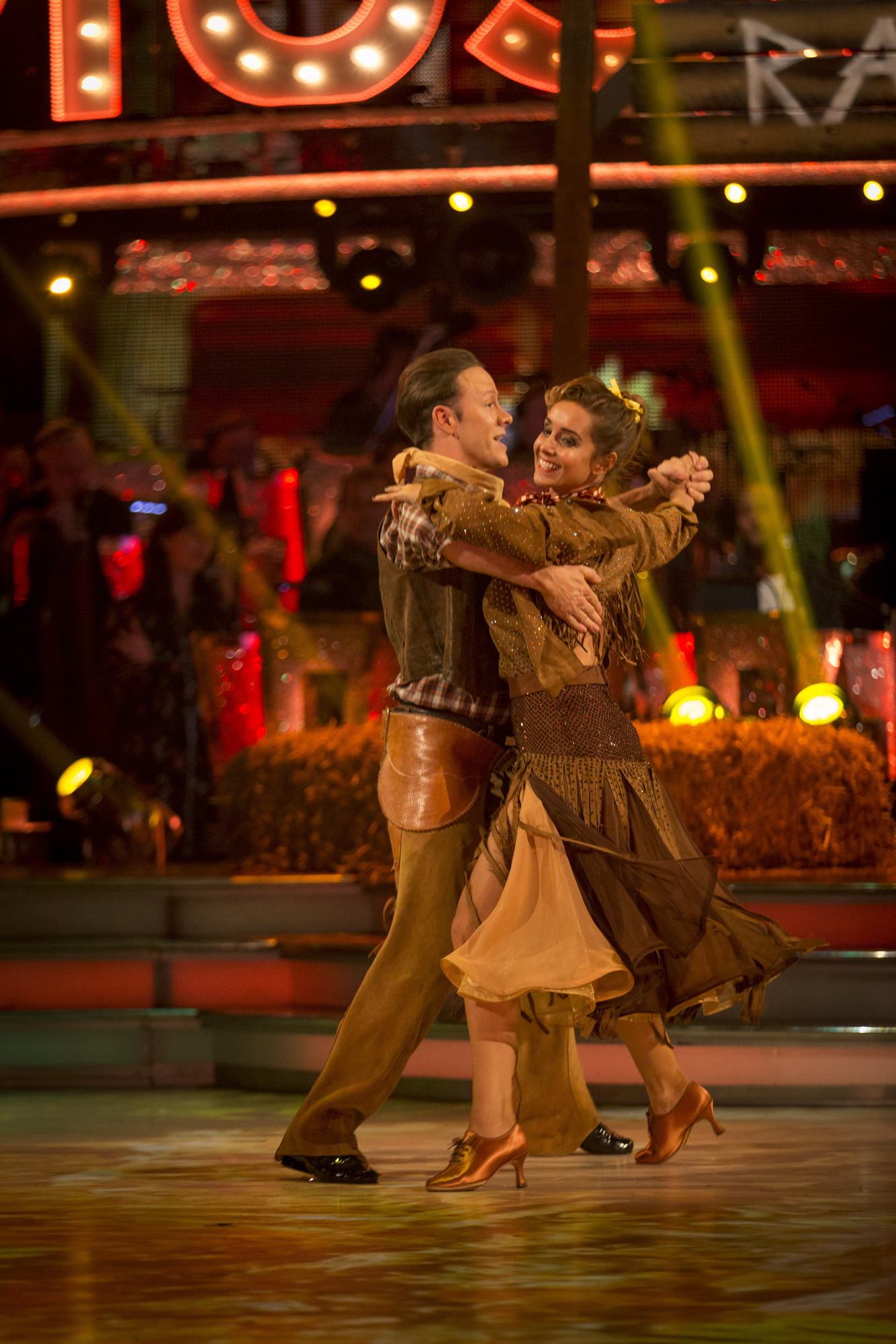 Kevin Clifton, Louise Redknapp - (C) BBC - Photographer: Guy Levy