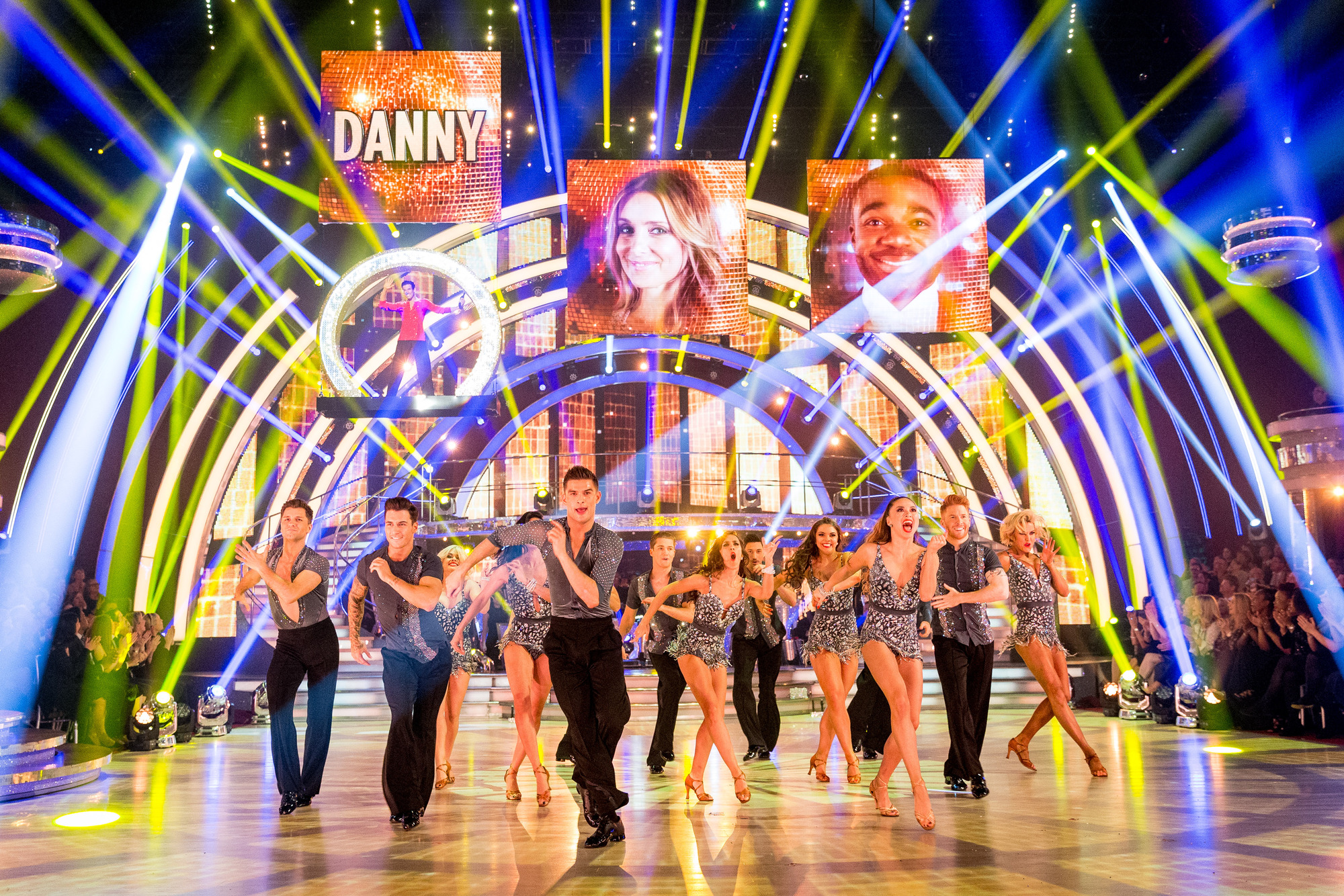 The Strictly Come Dancing dancers - (C) BBC - Photographer: Guy Levy
