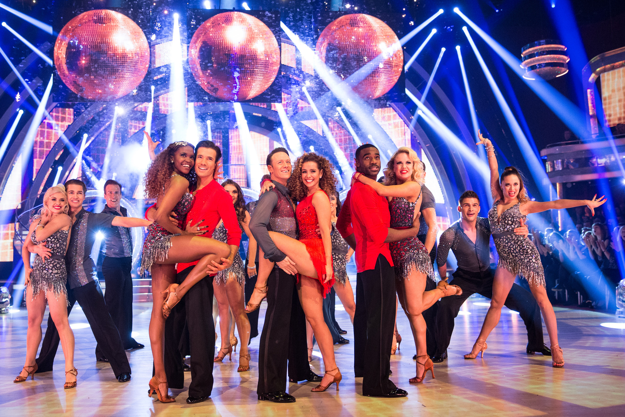 The Strictly Come Dancing contestants and professional dancers - (C) BBC - Photographer: Guy Levy