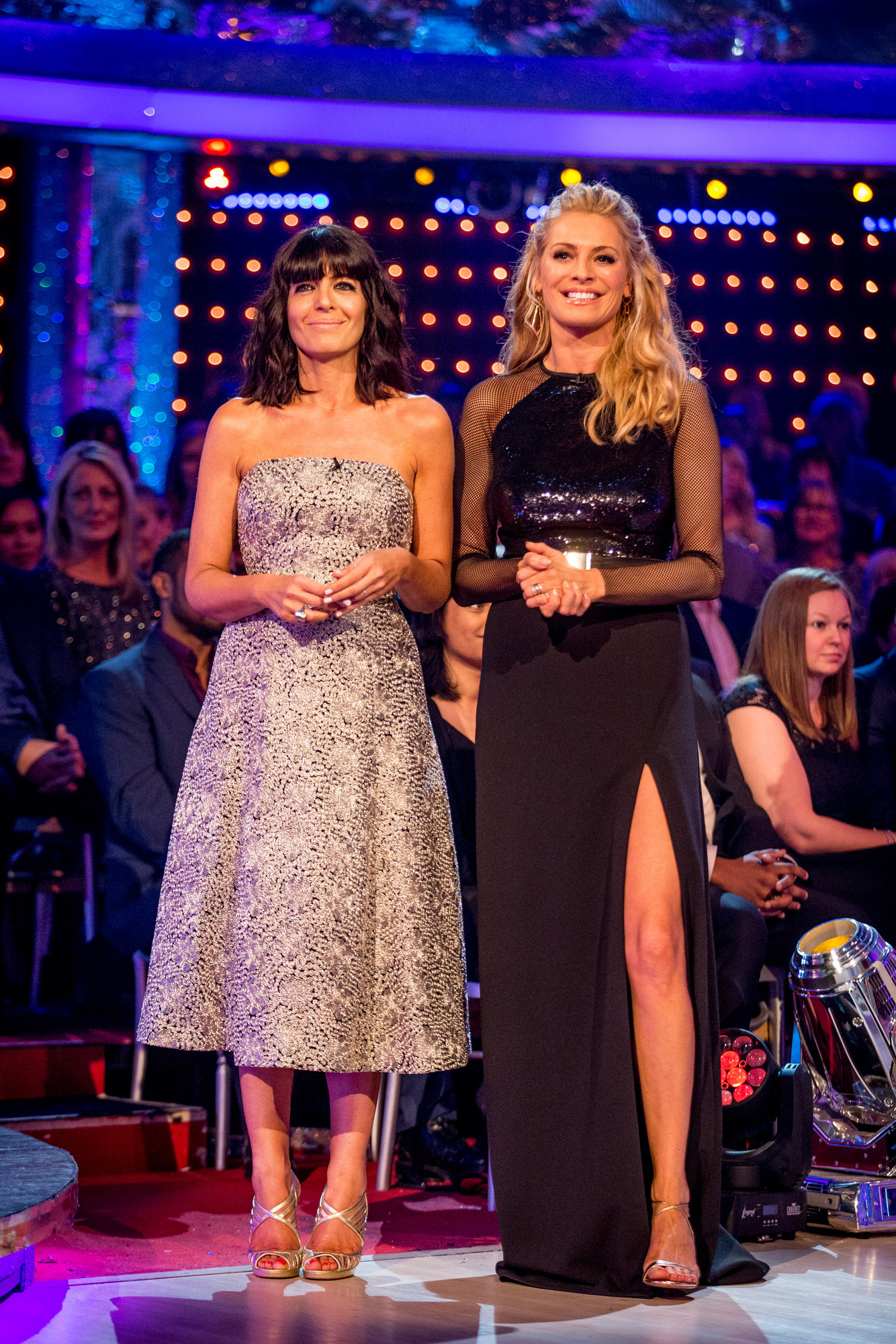 Claudia Winkleman, Tess Daly - (C) BBC - Photographer: Guy Levy
