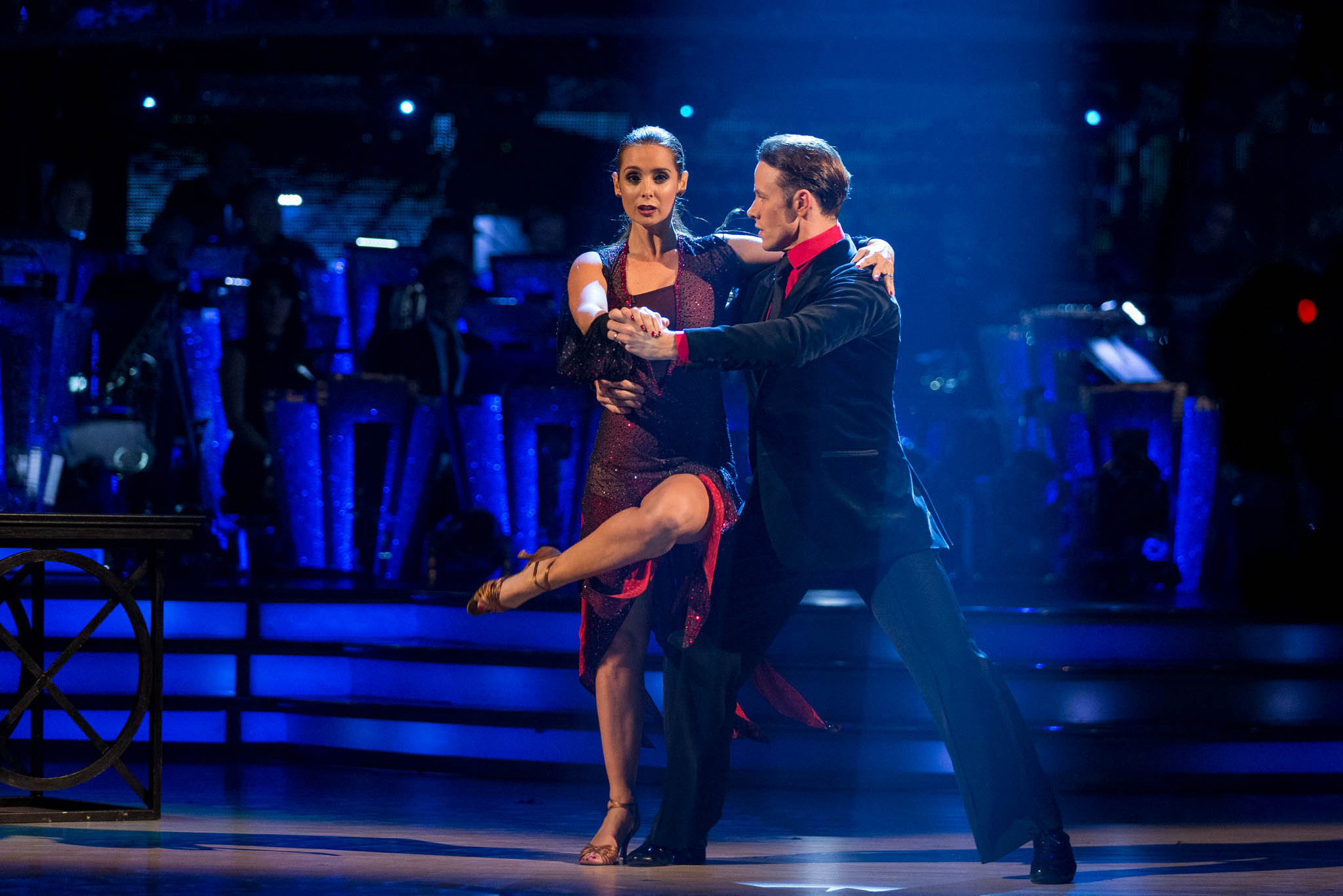 Louise Redknapp, Kevin Clifton - (C) BBC - Photographer: Guy Levy
