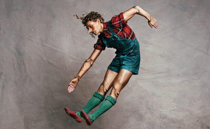 Skylar Campbell in Pinocchio. Photo by Karolina Kuras